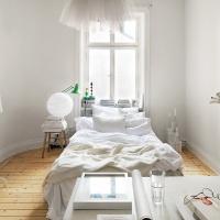 Маленькая женственная квартира в Стокгольме 32 кв. м.
