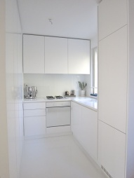 absolutely white kitchen