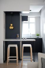 black and grey kitchen 2