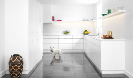 matt-white-with-corian-kitchen