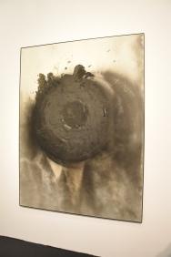 otto piene. mud moon. 1982/85