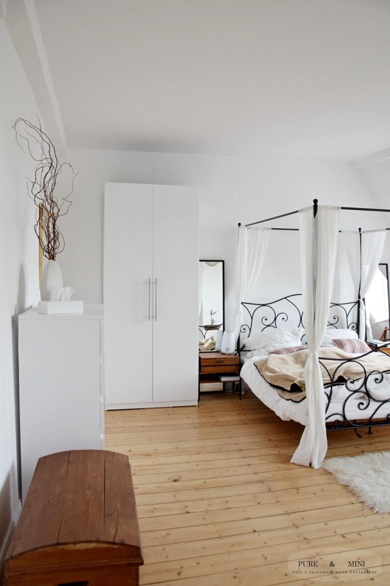 ремонт спальни: превращение никотинового чудовища в светлый интерьер